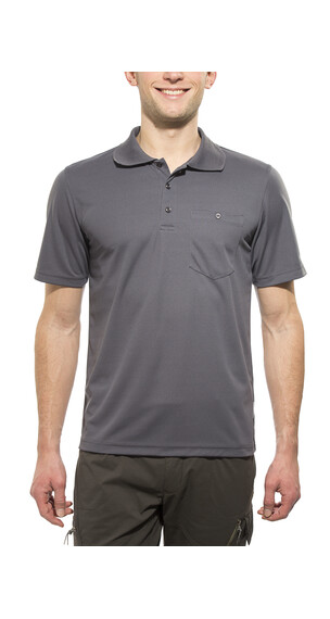 axant Alps Agion Active poloshirt Heren grijs